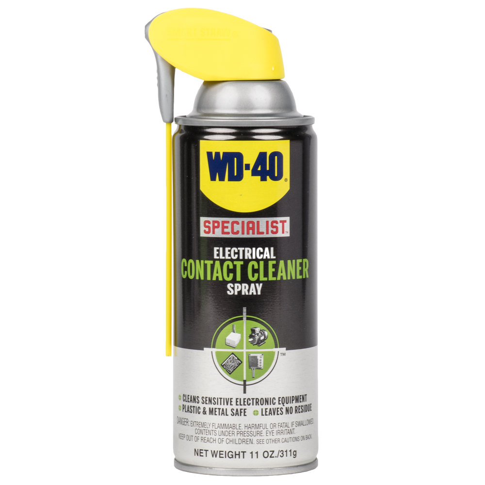 wd 40 specialist 11 oz electrical contact cleaner spray. Black Bedroom Furniture Sets. Home Design Ideas
