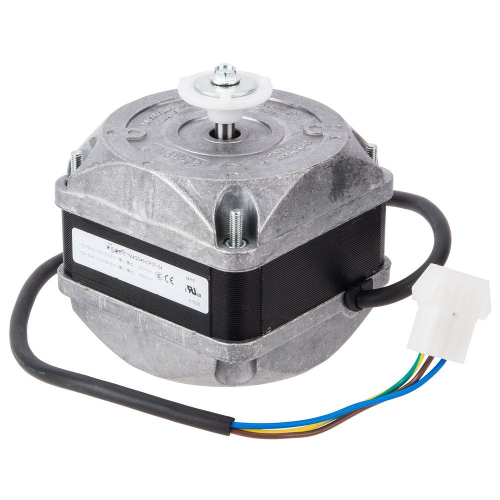 Avantco 17810976 condenser fan motor 115v 16w for Compressor fan motor replacement