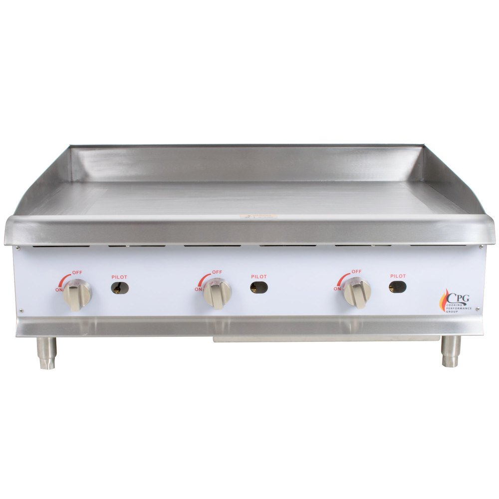 Gas Griddle Parts ~ Cooking performance group g quot gas countertop griddle