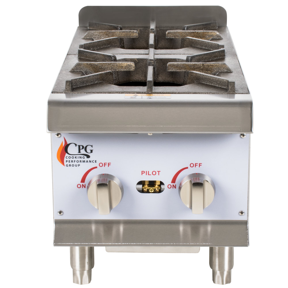Cooking Performance Group Hp212 2 Burner Gas Countertop