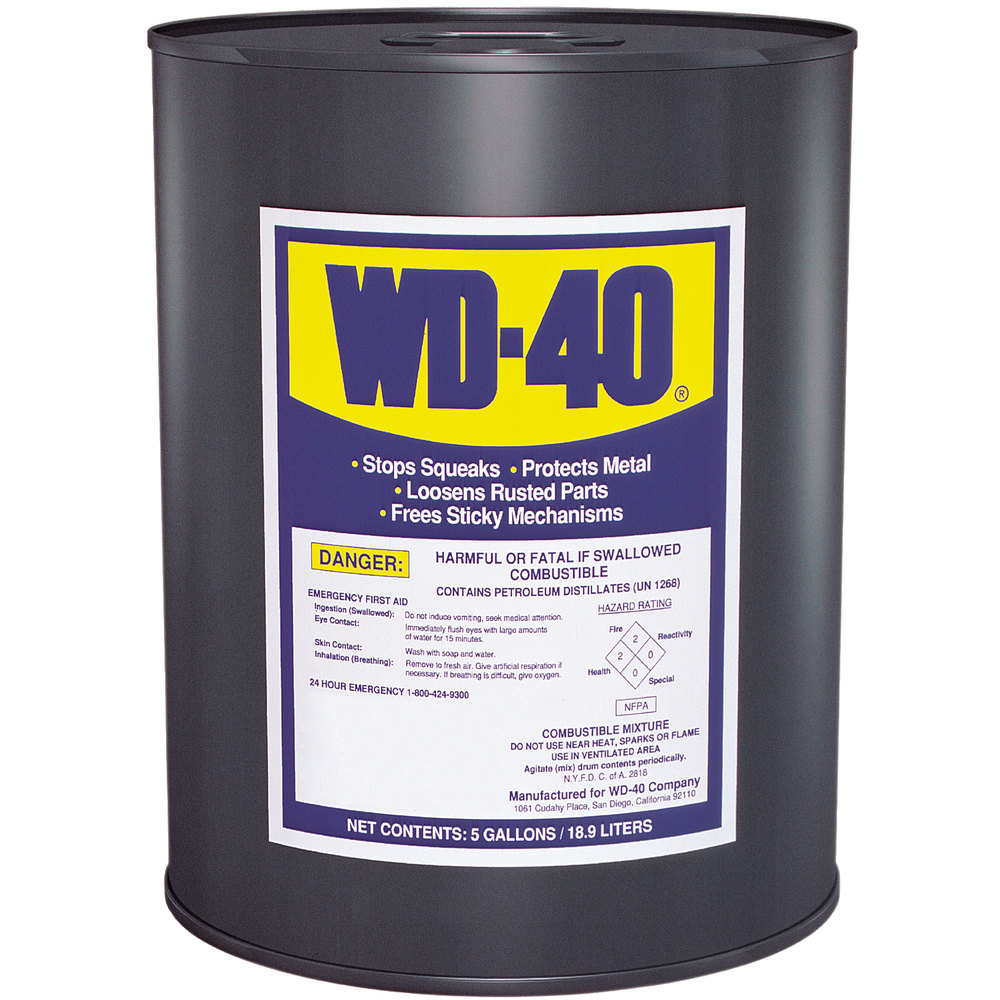 WD-40 5 Gallon Heavy Duty Lubricant