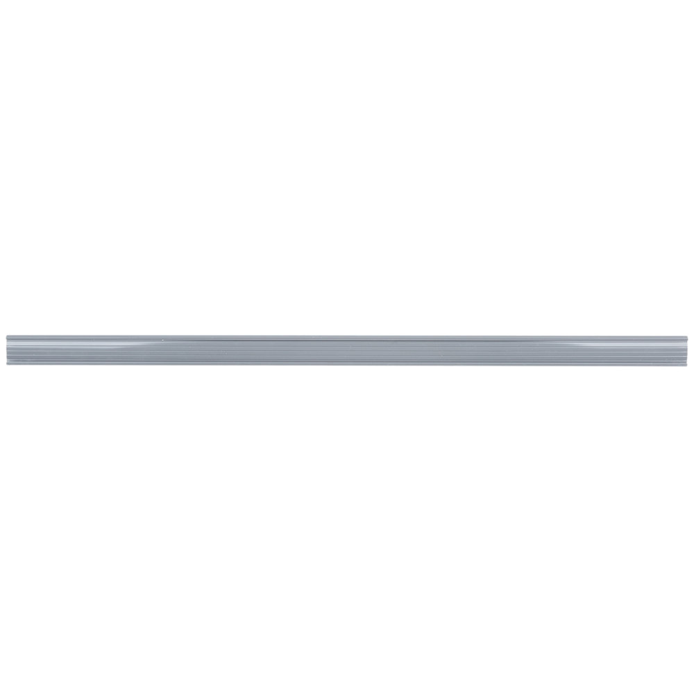 Regency 31 inch x 1 1/4 inch Gray Label Holder