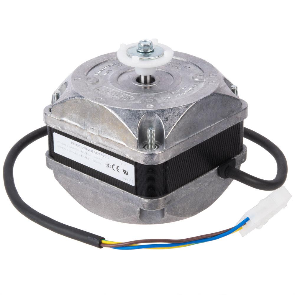 Fan Motor Product : Avantco condenser fan motor v w