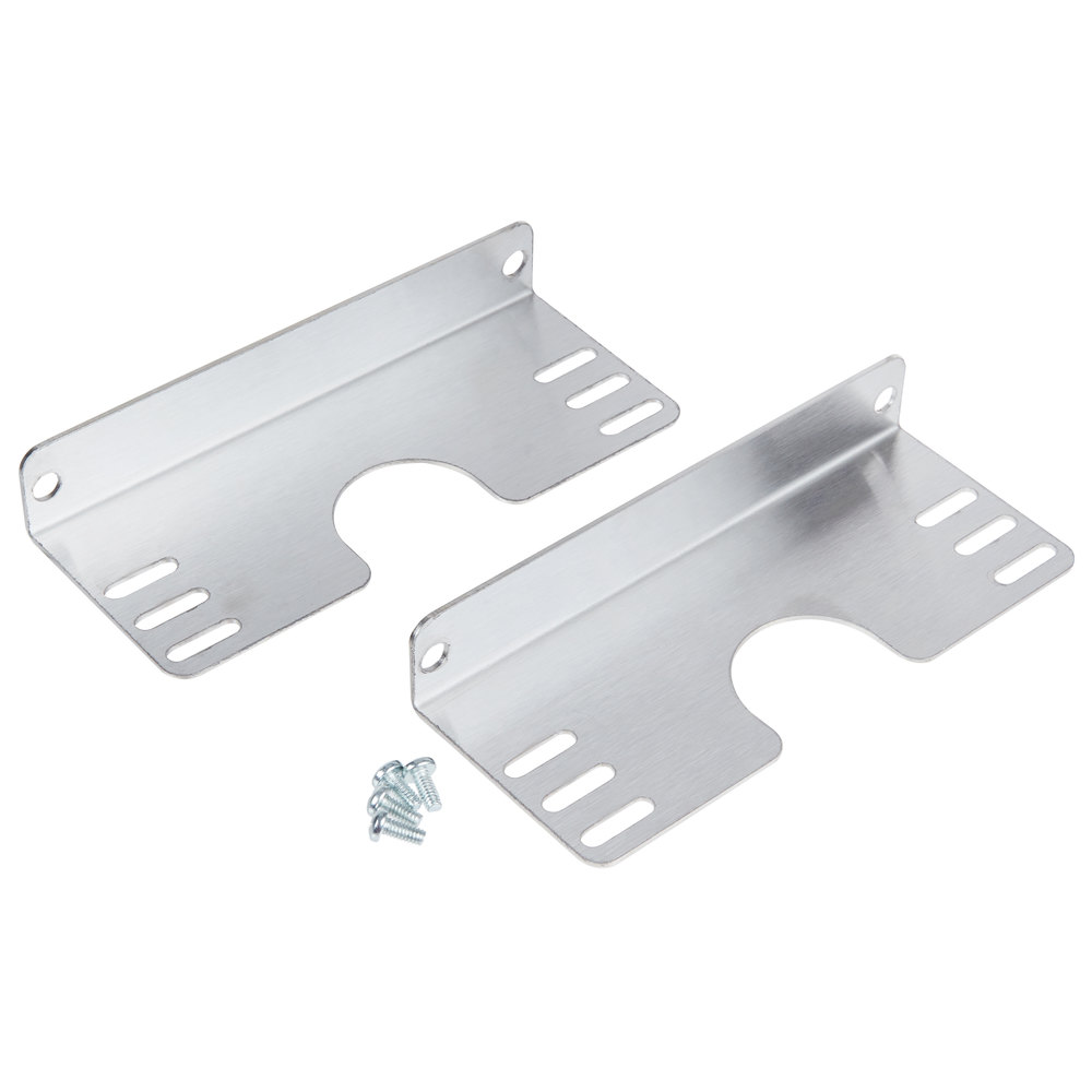 Hatco ADJ-ANGLE Adjustable Angle Brackets for Single Strip Warmers - 2/Set