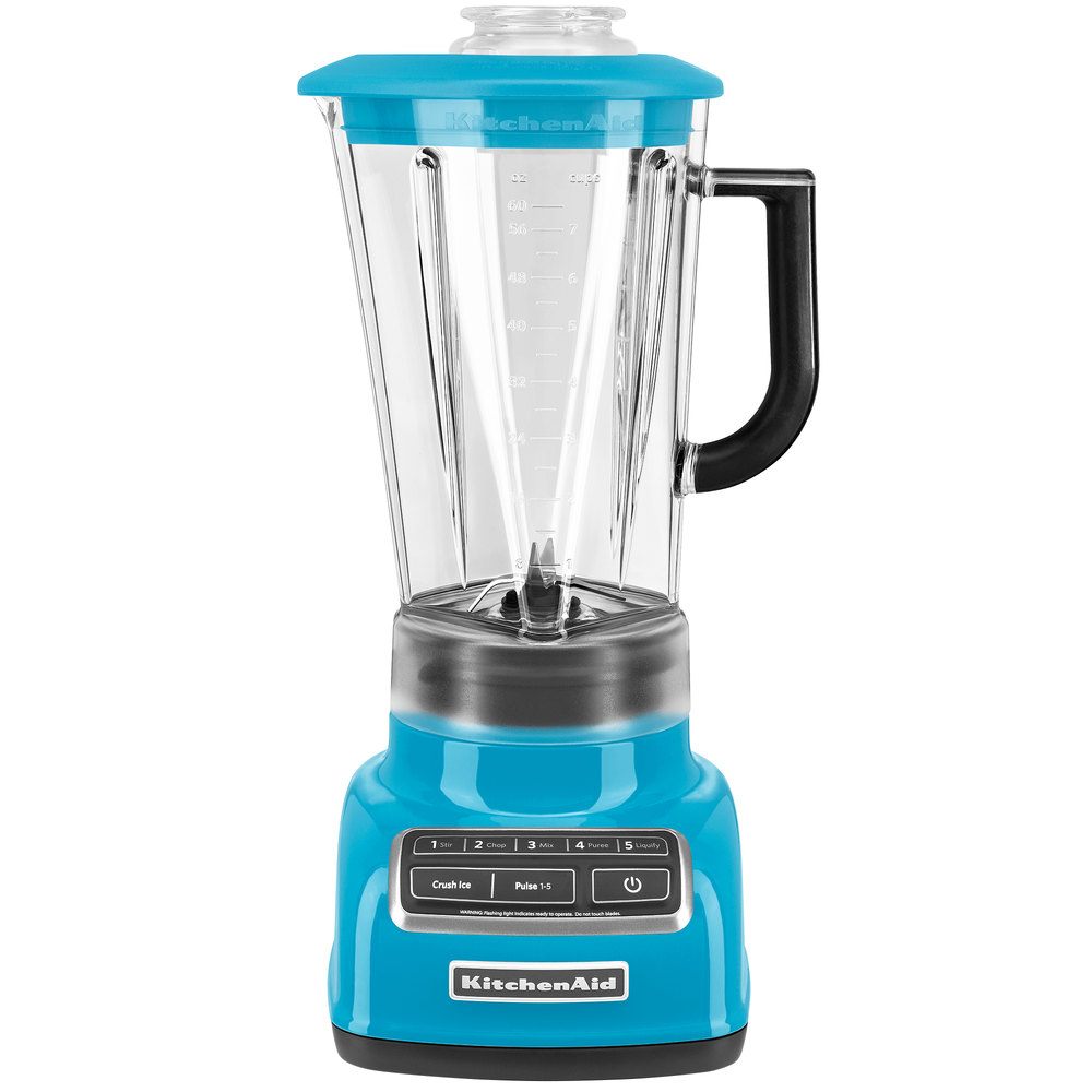 KSB1575CL Crystal Blue Diamond 60 oz. Five Speed Blender