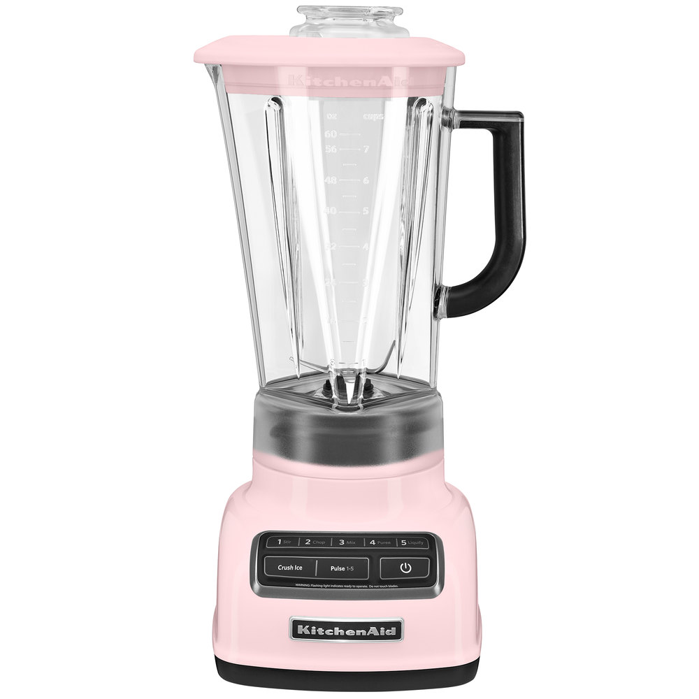 kitchenaid ksb1575pk pink diamond 60 oz five speed blender. Black Bedroom Furniture Sets. Home Design Ideas