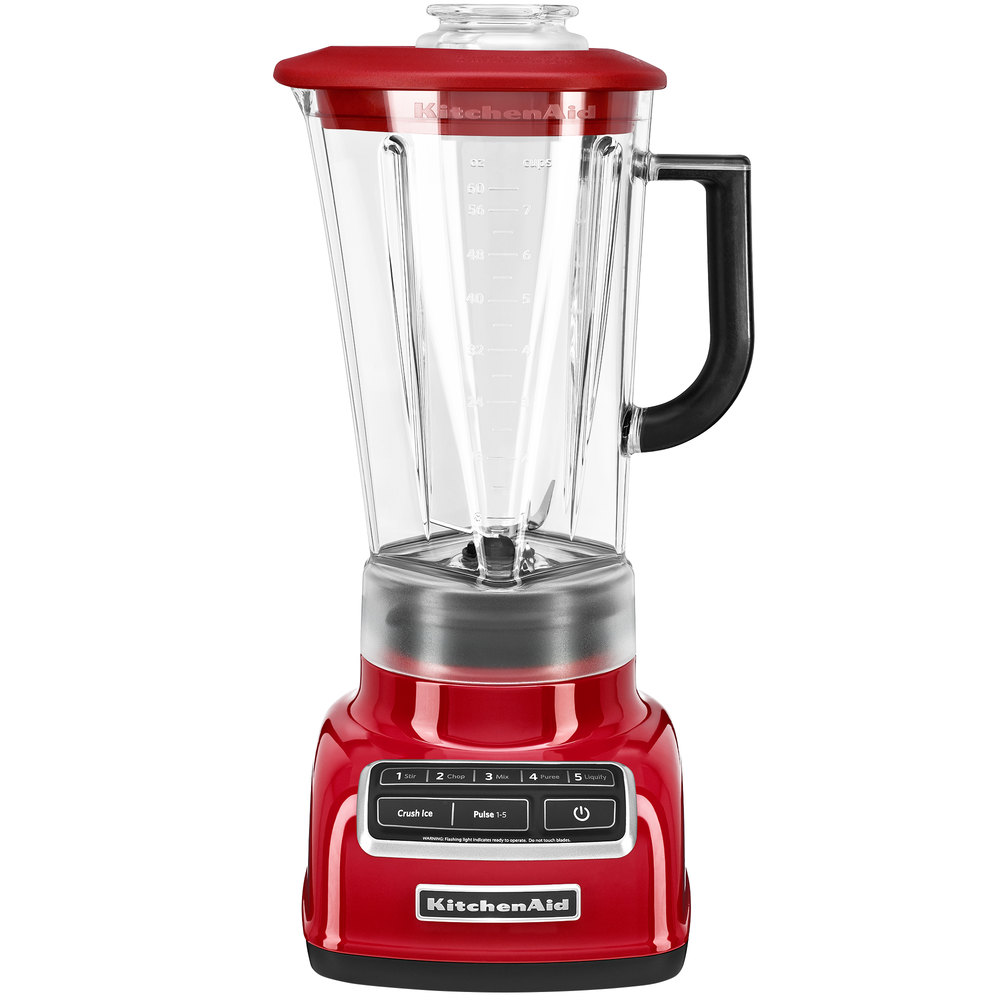 kitchenaid ksb1575er empire red diamond 60 oz five speed blender. Black Bedroom Furniture Sets. Home Design Ideas