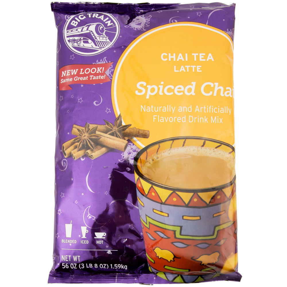 Big Train Spiced Chai Tea Latte Mix 3 5 Lb