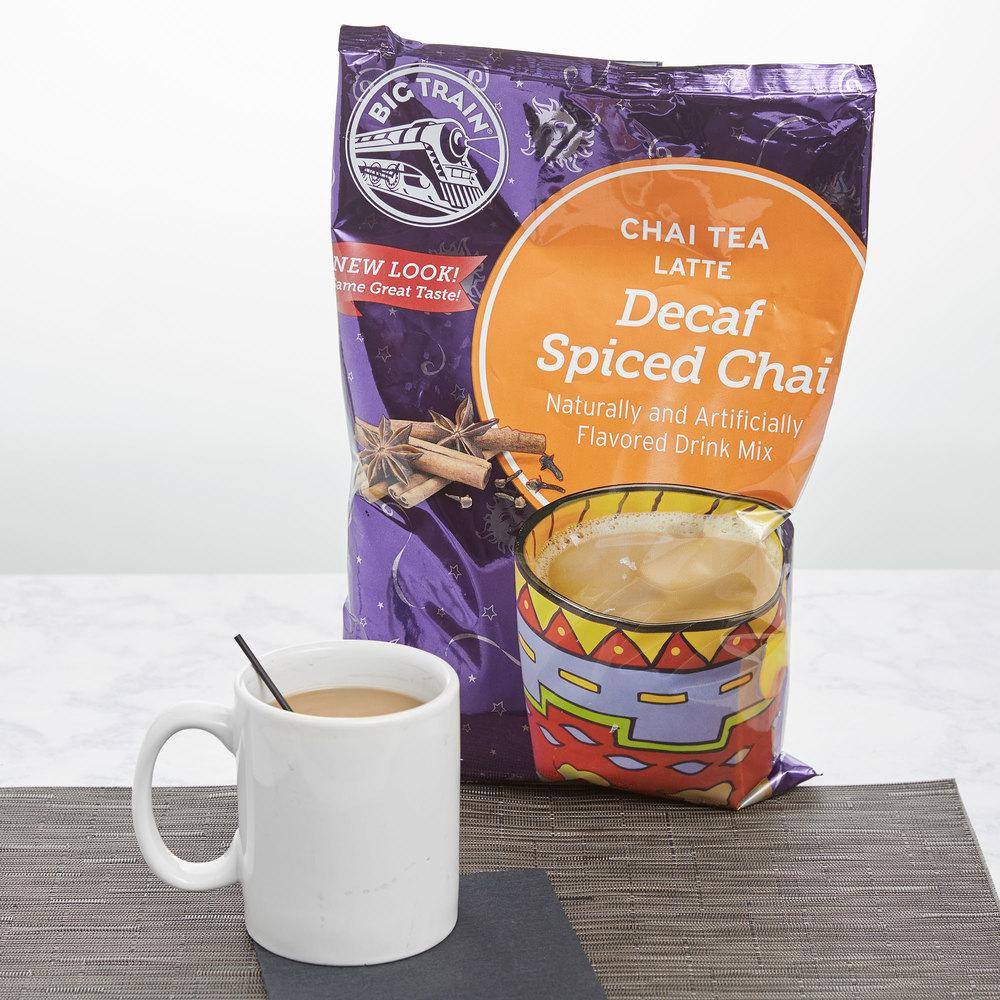 Big Train Decaf Spiced Chai Tea Latte Mix