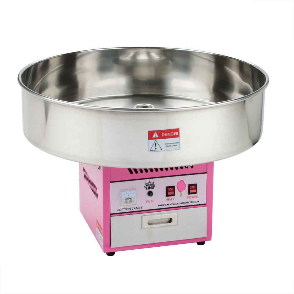 Carnival King CCM28 Cotton Candy Machine with 28 ...