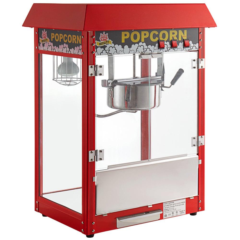 Carnival King PM30R Royalty Series 8 oz. Red Commercial Popcorn Machine / Popper - 120V, 1320W