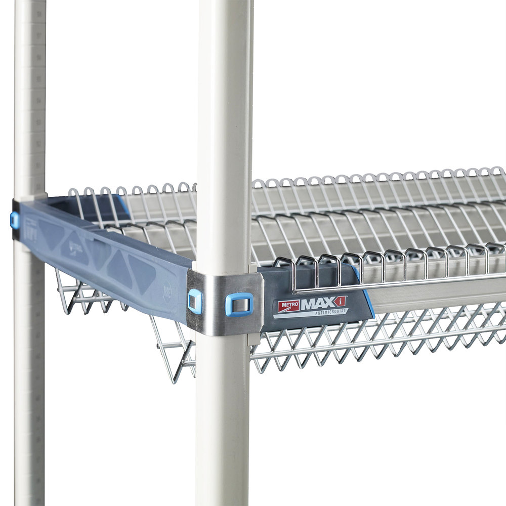 "Metro DR60S MetroMax iQ Stainless Steel Drop-in Rack 24"" x 57 7/8"" x 5 1/4"""