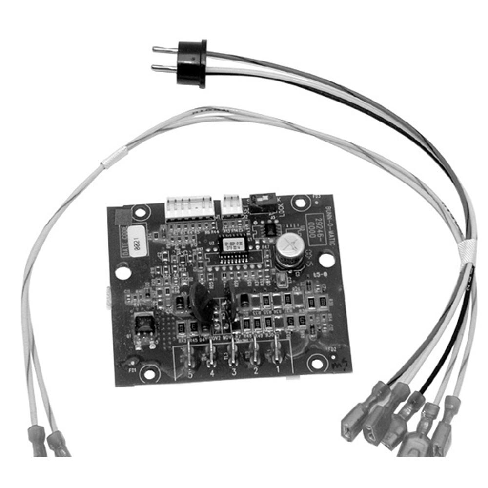 Bunn 02235.1039 Equivalent Digital Timer Board with Wiring Harness - 120V
