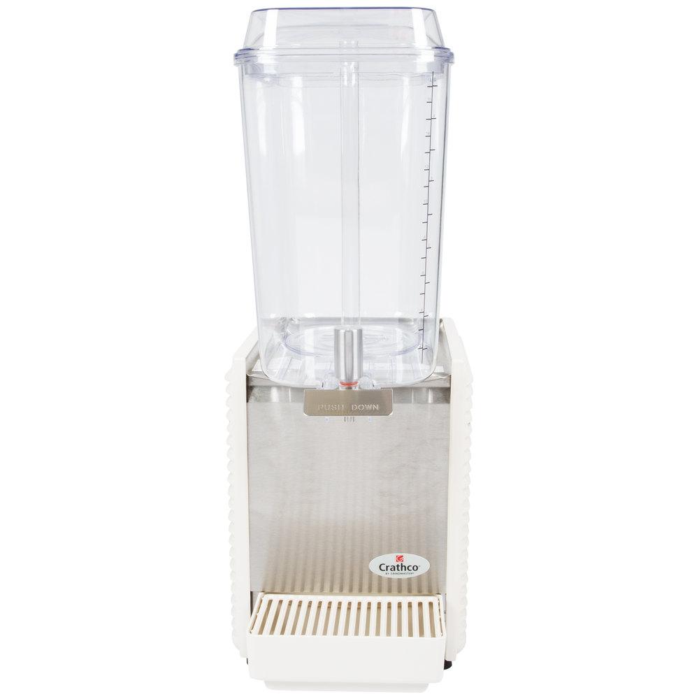 Crathco D15 4 Single 5 Gallon Bowl High Impact Plastic