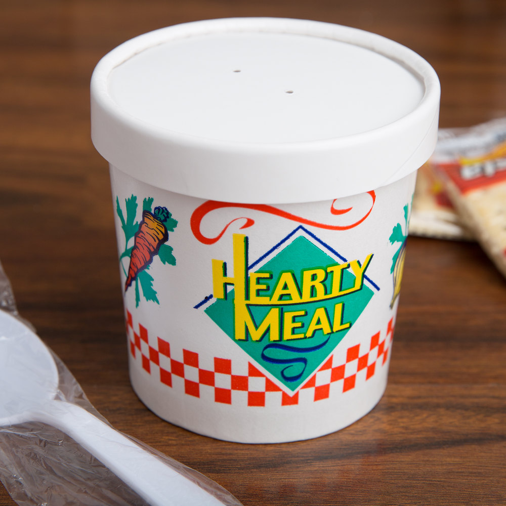 paper soup cups Keep your soup warm and mess free with our huge collection of durable soup containers and food cups here at mrtakeoutbags check out our selection today.