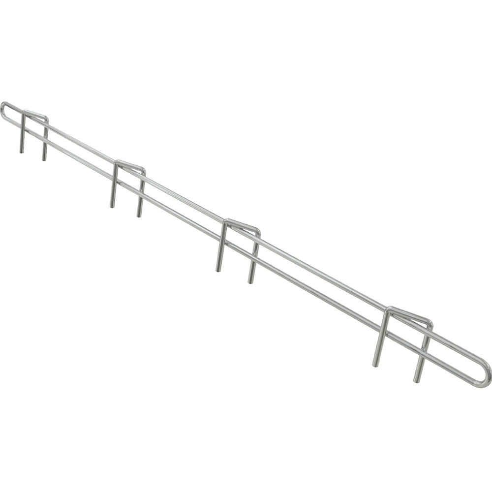 "Metro L24N-1S Super Erecta Stainless Steel Ledge 24"" x 1"""