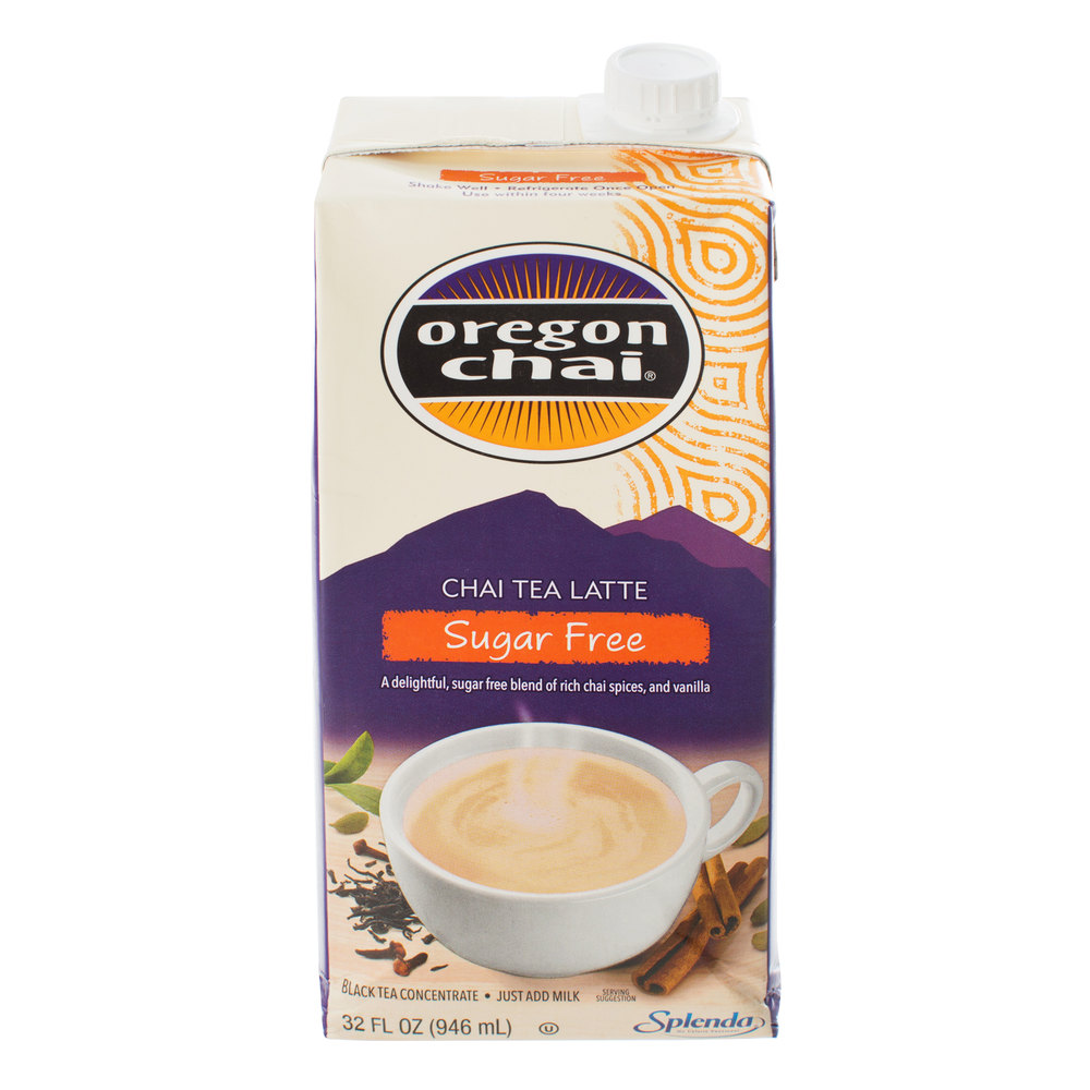 Oregon Chai 32 Oz. Sugar Free Original Chai Tea Latte