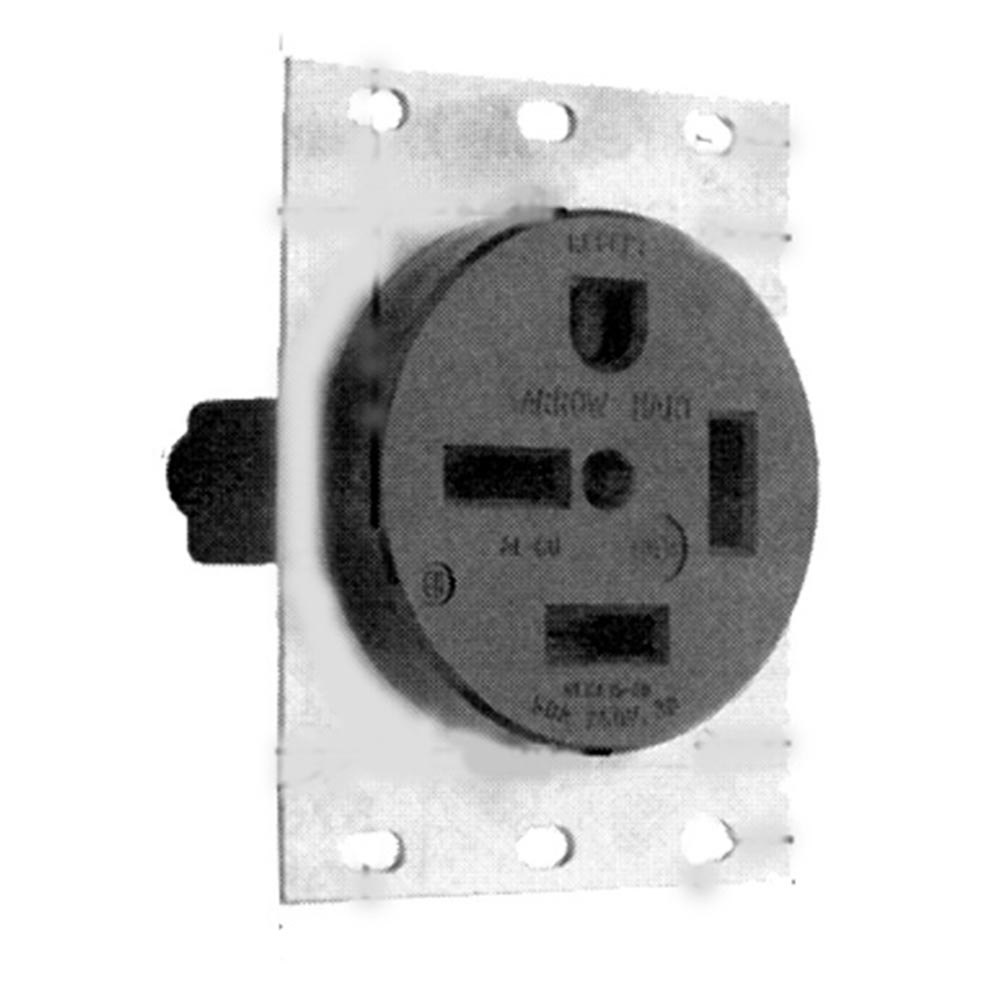 All Points 38 1281 Single Receptacle Nema 15 50r 3 Phase