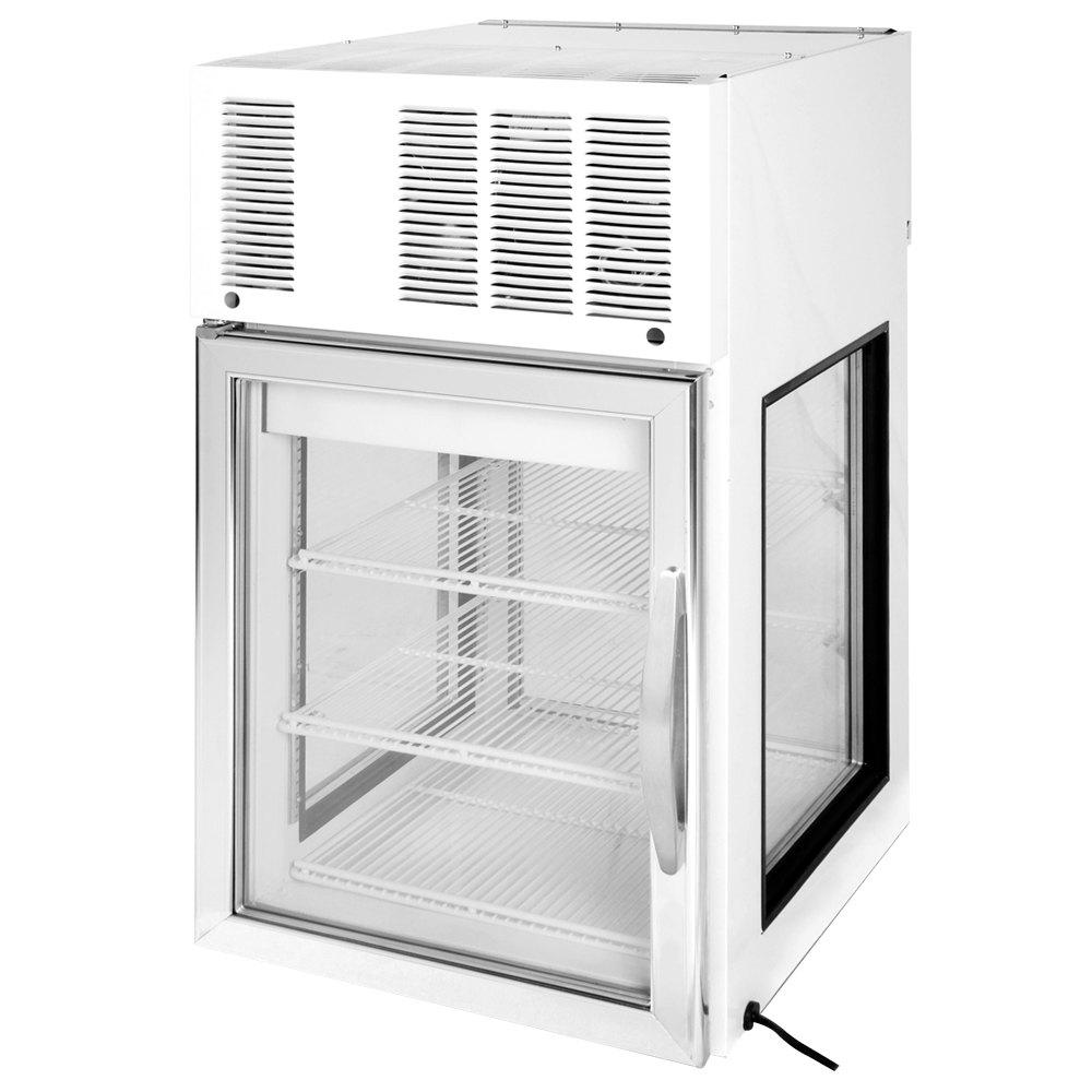 Beverage Air Cr5ge 1w G White Countertop Merchandiser