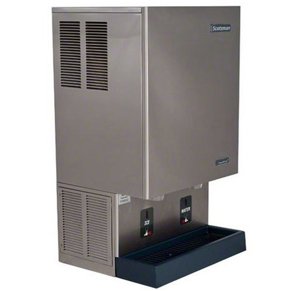 Scotsman MDT5N40A-1 Countertop Air Cooled Ice Machine and Dispenser ...