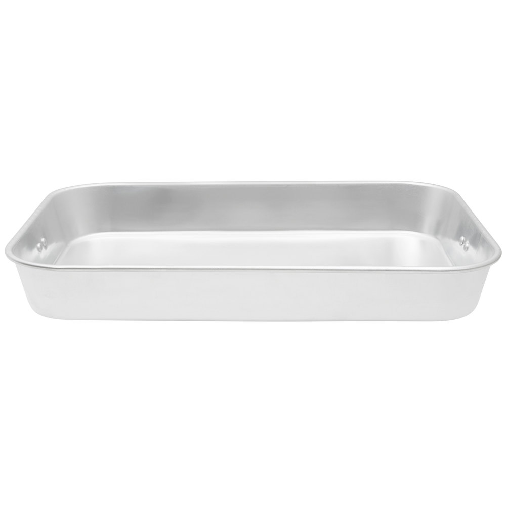 8 24 Qt Aluminum Baking And Roasting Pan With Handles