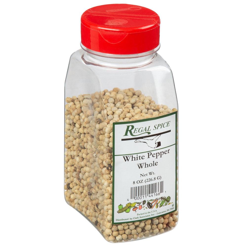 Regal Whole White Peppercorn - 8 oz