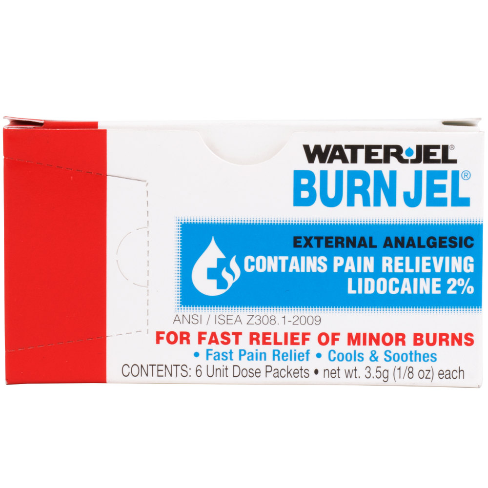 Medi-First Burn Jel Single Dose Packet 6 / Box