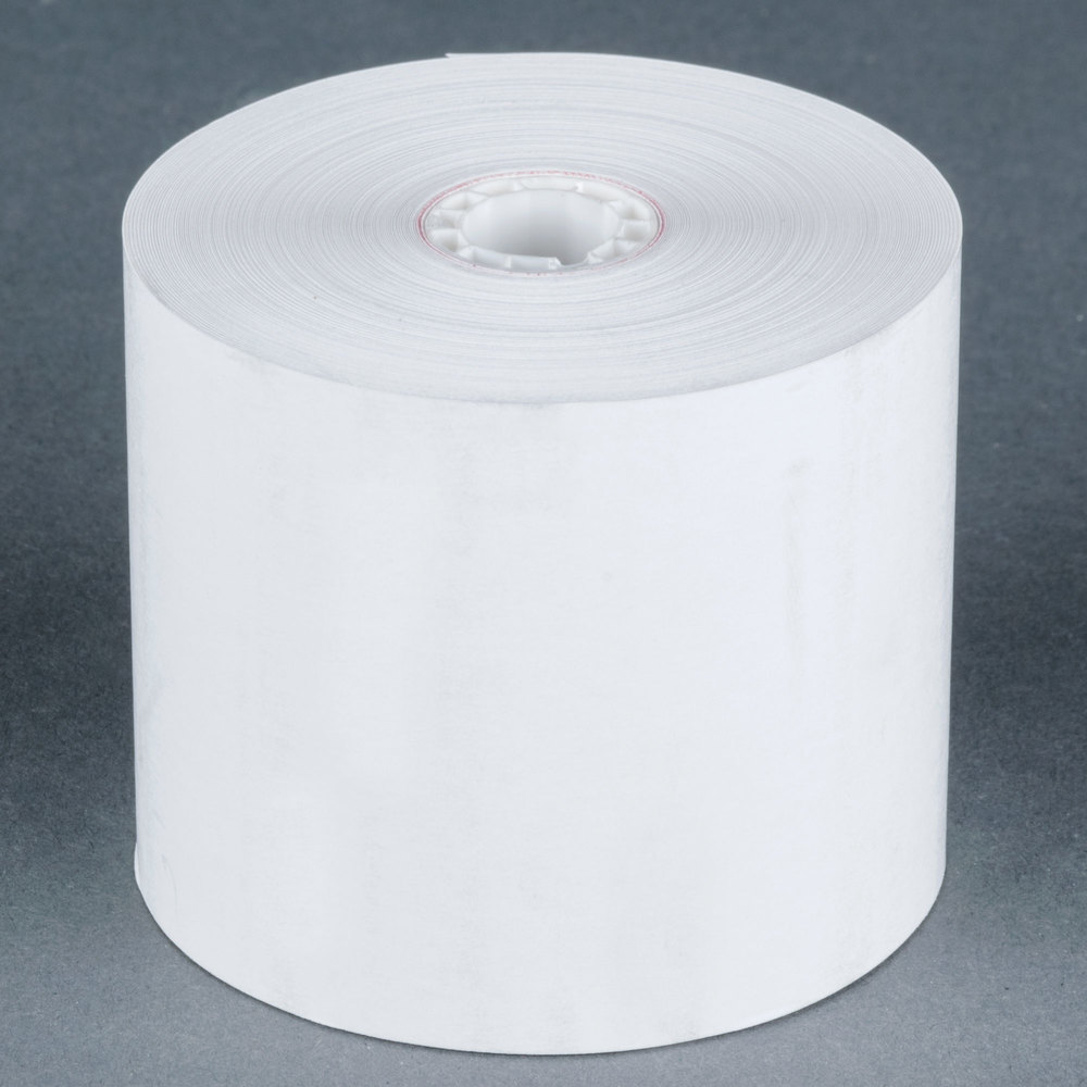 "2 5/16"" x 209' Thermal Gas Pump Paper Roll Tape - 50/Case"