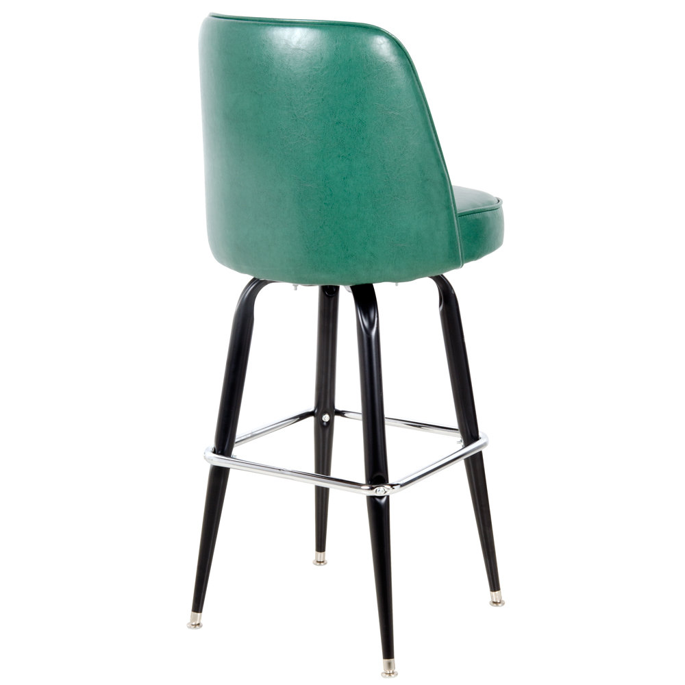 Lancaster Table Amp Seating Deluxe Green Barstool With 19