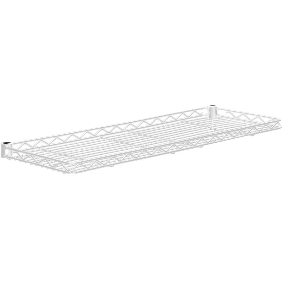 "Metro 1260CSNW White Cantilever Shelf - 12"" x 60"""