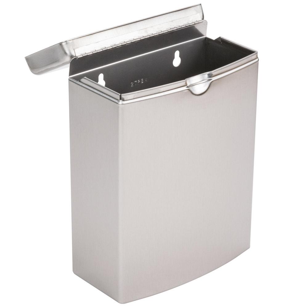 Bobrick B 270 Stainless Steel Sanitary Napkin Receptacle