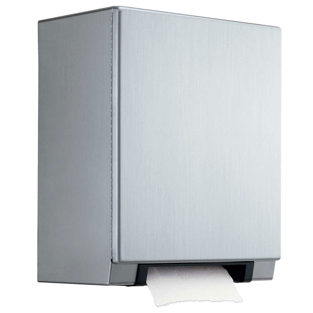 Commercial Touchless Paper Towel Dispenser ~ Bobrick b surface mounted automatic universal roll