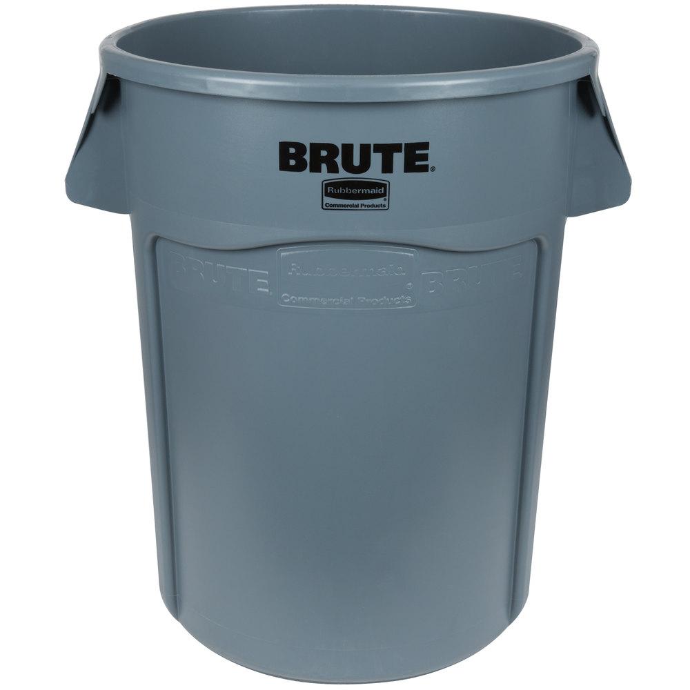 44 Gallon Trash Can Rubbermaid Brute 44 Gal Fg264360gray