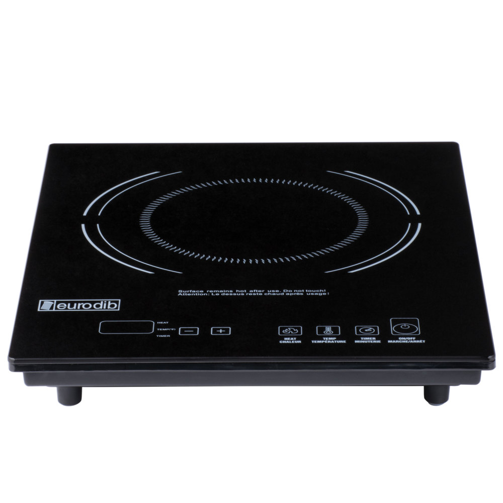 Countertop Induction Stove : Eurodib P3D Countertop Induction Range with Digital Temperature ...