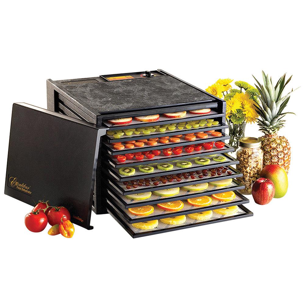 Excalibur 3900b Black Nine Rack Food Dehydrator 600w