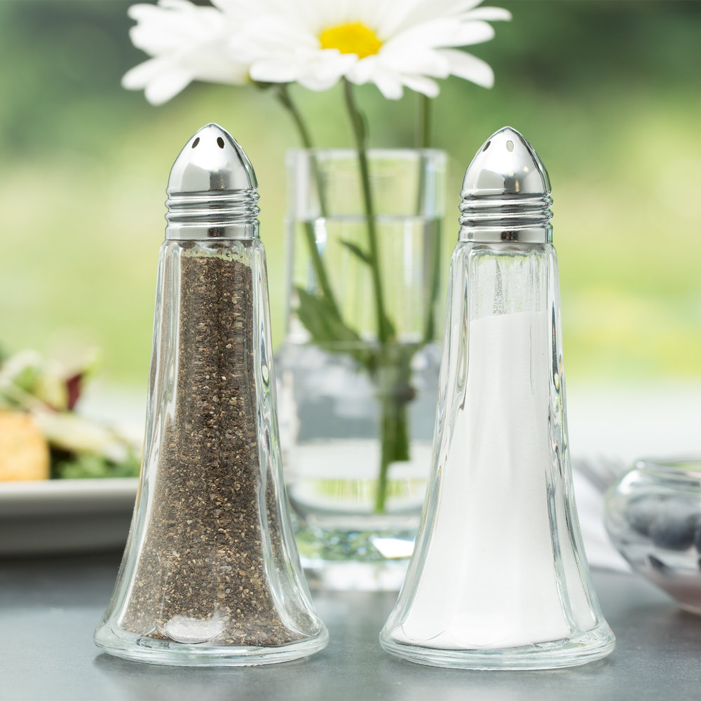 Libbey 70022 Winchester 1.5 oz. Salt and Pepper Shaker - 12/Pack