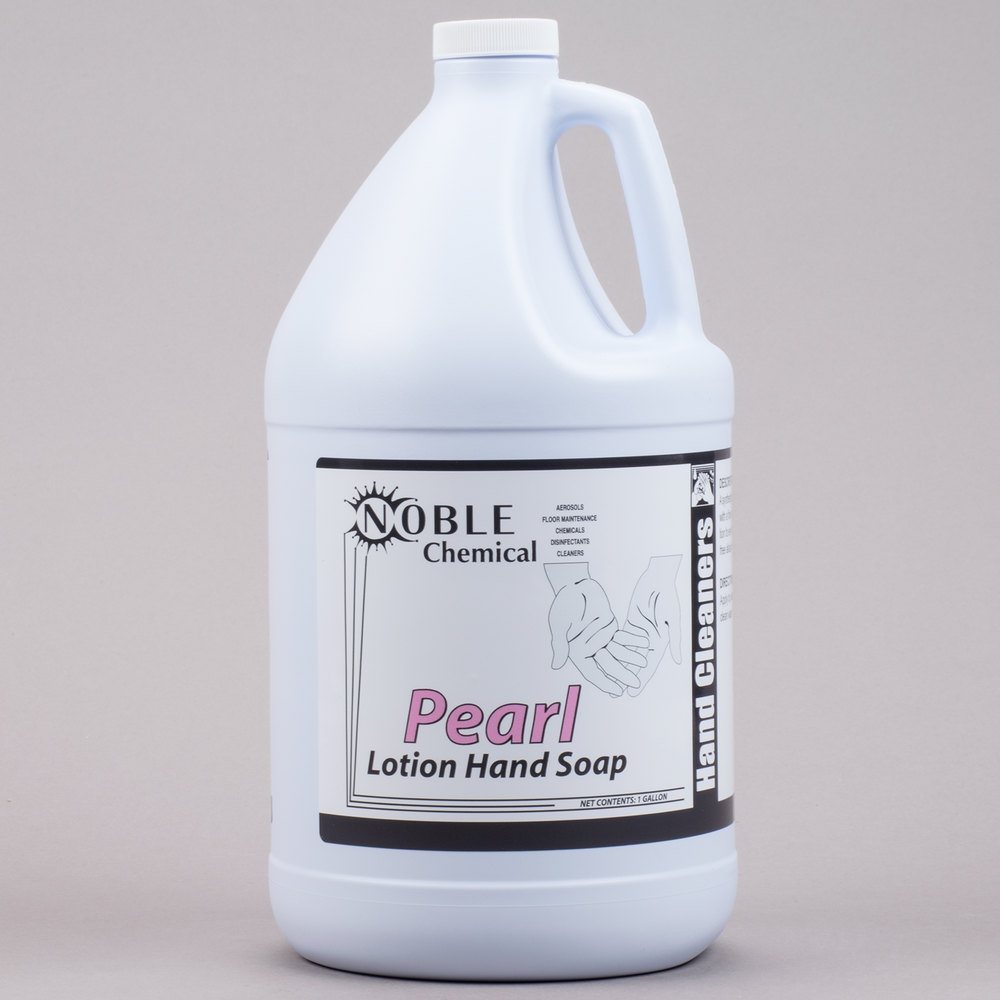 1 Gallon Noble Chemical Pearl Lotion Hand Soap Ecolab