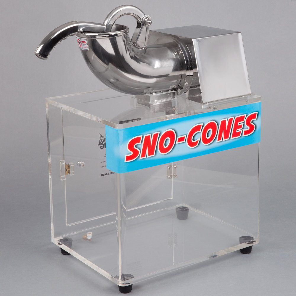 Carnival King SCM250 Sno Cone Ice Machine - 120V