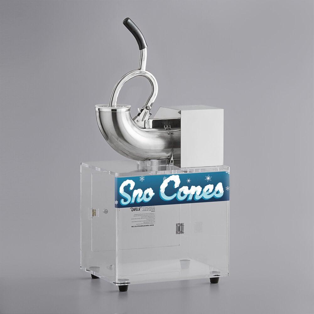 Carnival King SCM250 Sno Cone Ice Machine - 120V