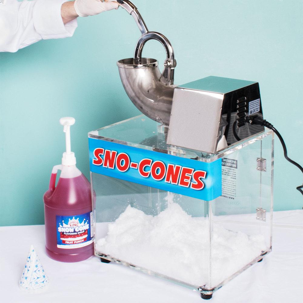 sno cone machine for sale