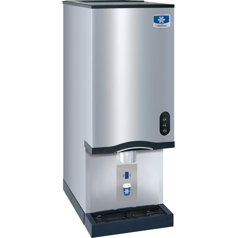 Manitowoc RNS-20AT Air Cooled Countertop Ice Maker and Water Dispenser ...