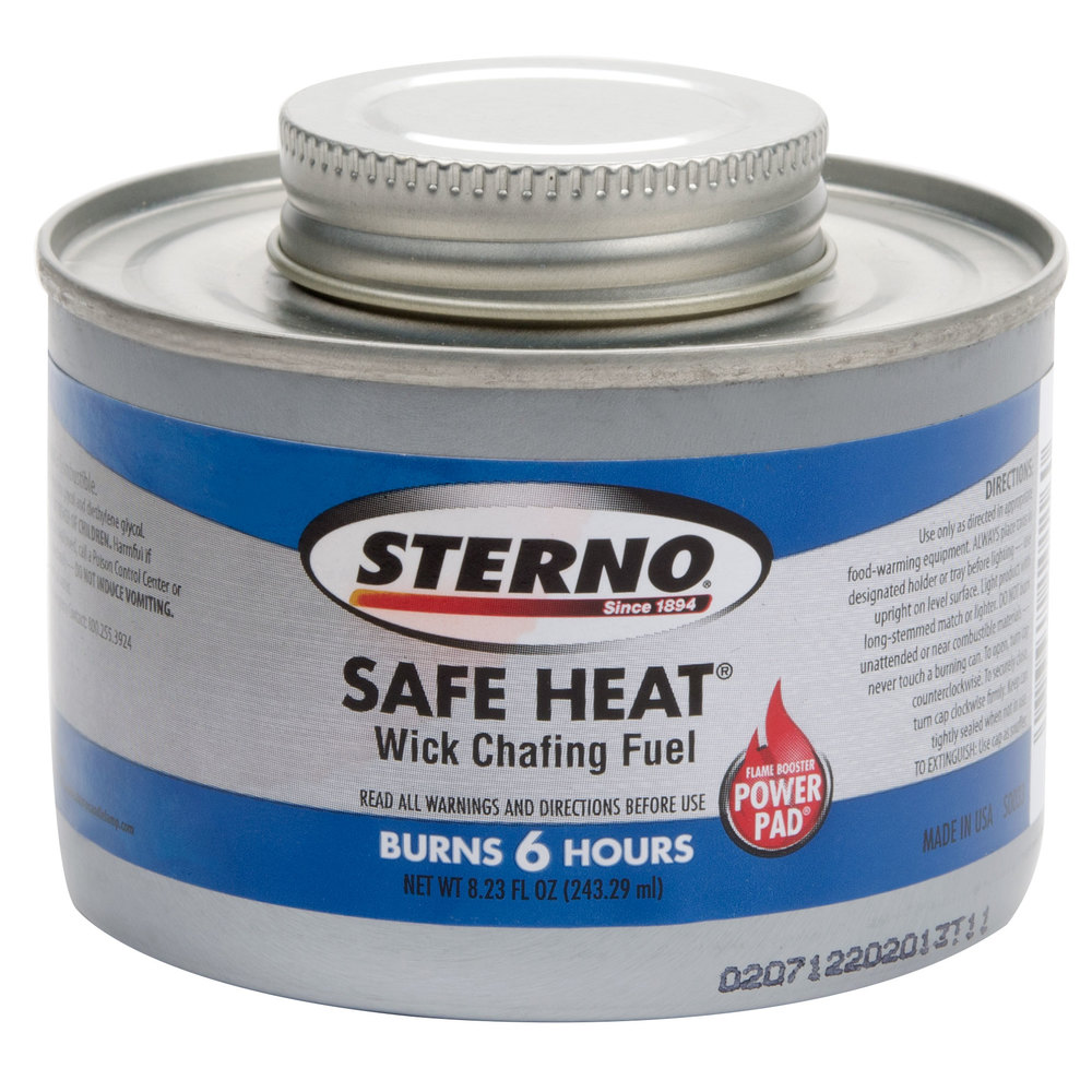 Sterno products 10116 6 hour wick chafing dish fuel for Sideboard petrol