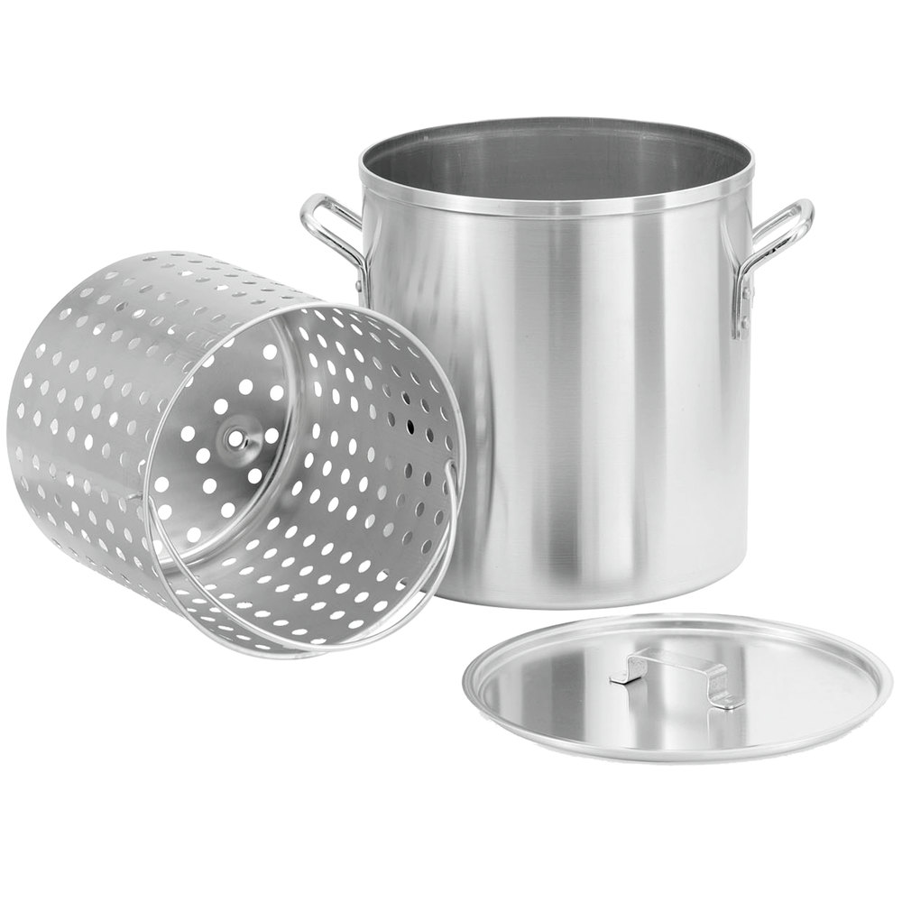 Vollrath 68273 Wear-Ever 80 Qt. Boiler / Fryer Set