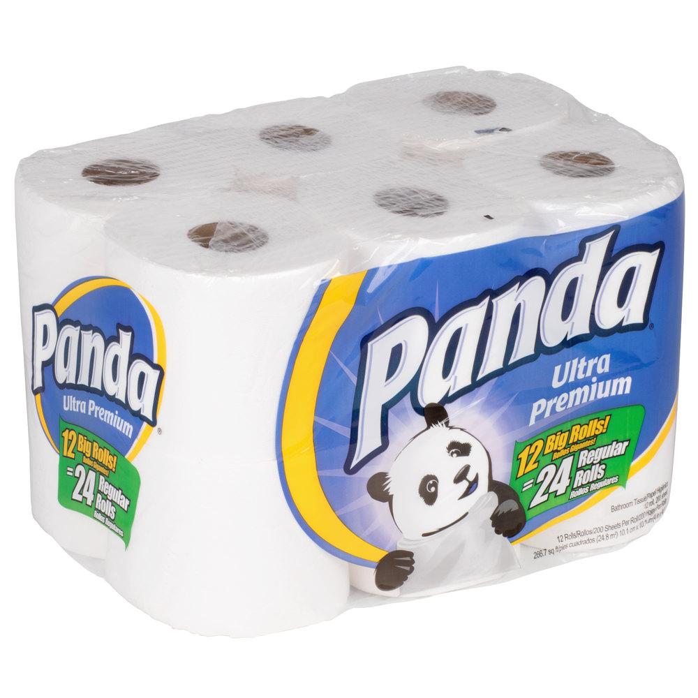 2 ply ultra premium 200 sheet bathroom tissue 96case