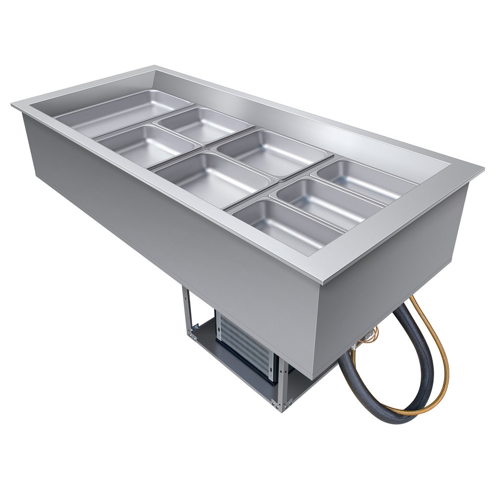 Hatco Cwb 4 Four Pan Refrigerated Drop In Cold Food Well