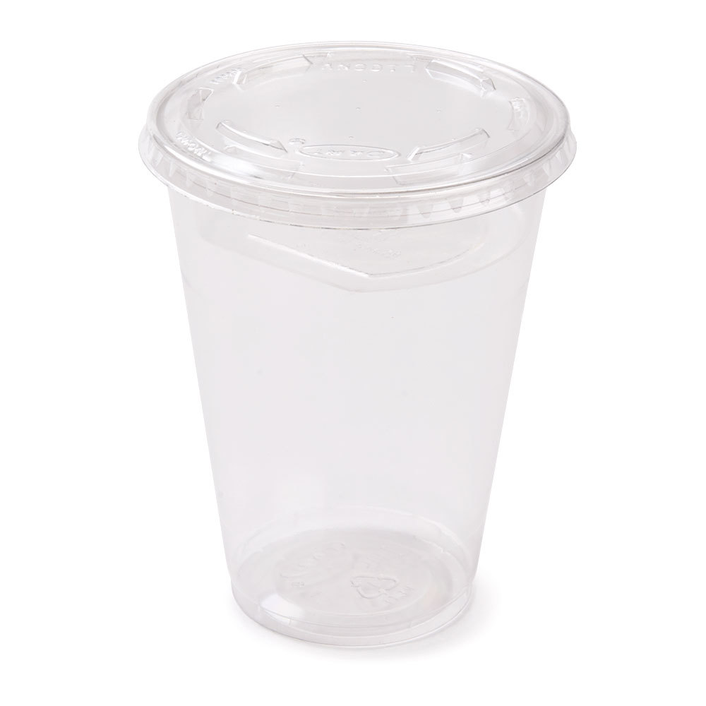 Narrow 10 Oz Parfait Cup With 2 Oz Fabri Kal Insert And