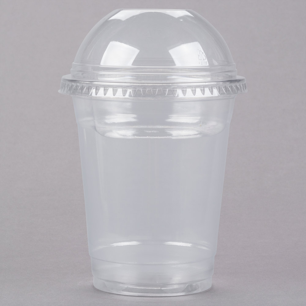 12 Oz Parfait Cup With 4 Oz Fabri Kal Insert And Dome