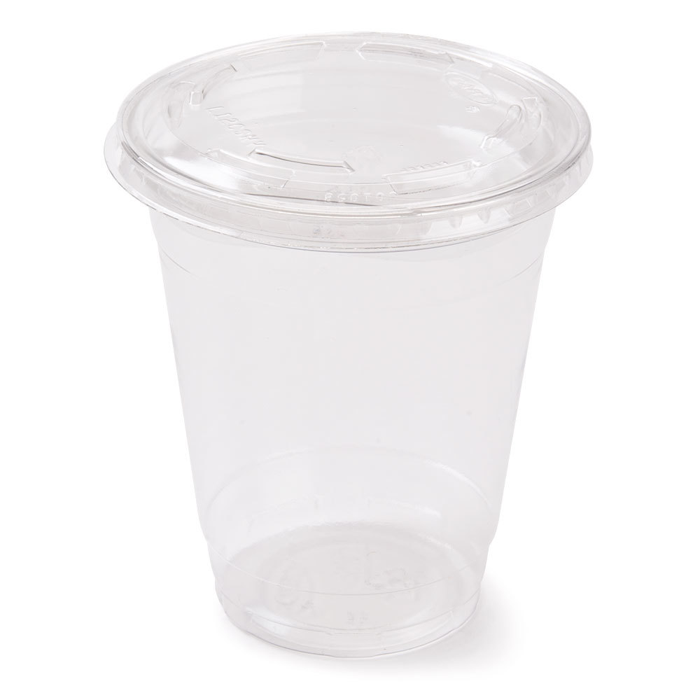 12 Oz Parfait Cup With 2 Oz Fabri Kal Insert And Flat