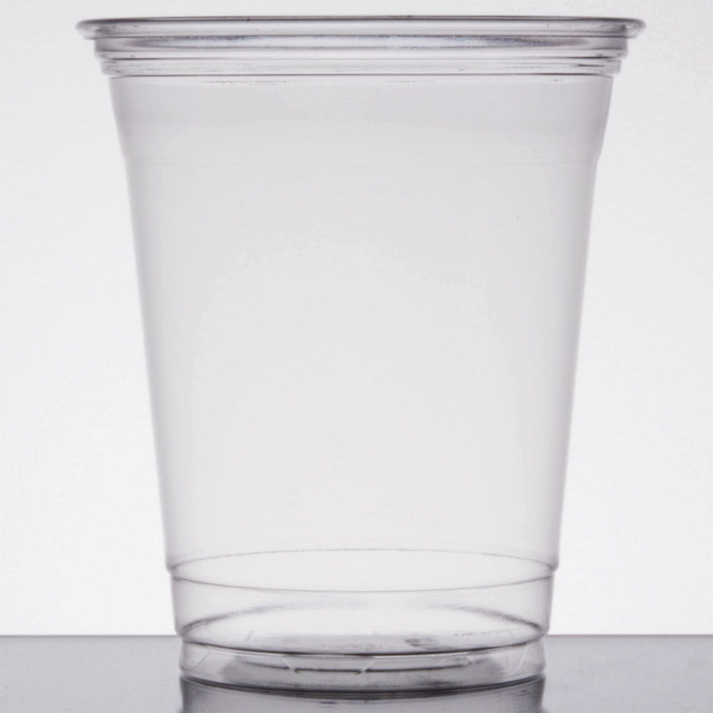 Top Clear Plastic Cup : Dart solo ultraclear tp oz clear pet plastic cold