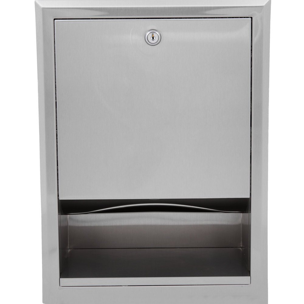 Bobrick B 359 C Fold Or Multifold Recessed Paper Towel Dispenser
